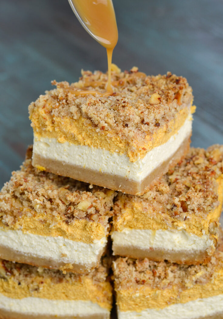 Keto Pumpkin Cheesecake Bars The Best Keto Recipes
